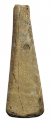 Находки со стоянки Кода 3: каменный пест.