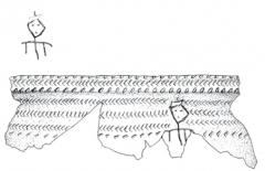 Находки со стоянки Кода 3: керамика.
