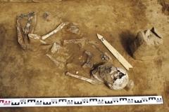 Могильник Кода. Погребение 1. Вид с юго-запада.