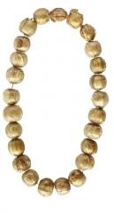 Находки из могильника. Ожерелье из златостеклянных бус, женское погр. 1. Начало III в.