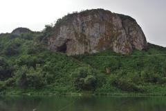 Вид на Чагырскую пещеру с юга.