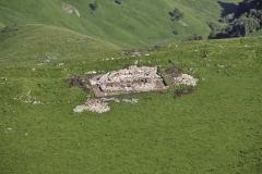 Вид на поселение с верхнего плато. Фото с запада.
