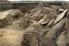 Фрагмент фортификации. Вид с севера.